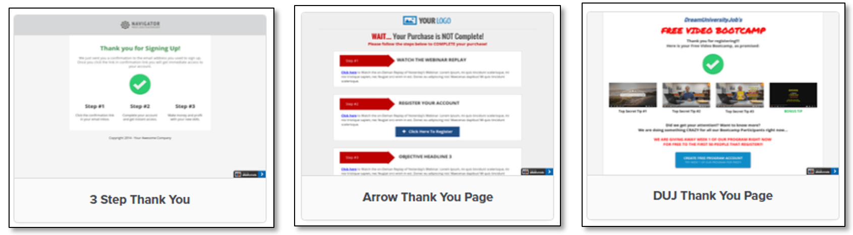 ClickFunnels software example 3